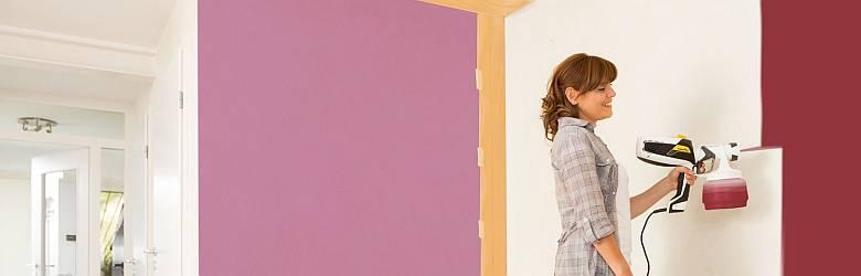 A festékszóró használata